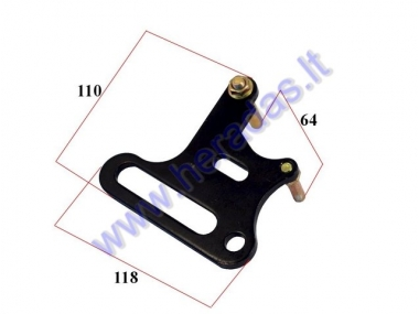 Bracket for front brake caliper motorcycle 70-150cc 12mm