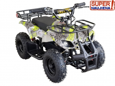 ELECTRIC QUAD BIKE HUNTER SUPER EDITION 500W 36V with new generation brushless engine