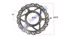 FRONT BRAKE DISC FOR MOTORCYCLE , FIT TO MOTOLAND MTL250