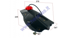 UNIVERSAL FUEL TANK FOR MOTORCYCLE, FITS TO MOTOLAND MTL250