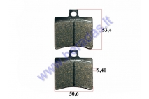 BRAKE PADS fo motocycle Hyosung GT 650