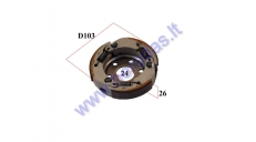 CENTRIFUGAL CLUTCH FOR 50CC SCOOTER MBK,Yamaha, Minarelli FOR CLUTCH DRUM 107mm
