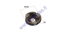 CENTRIFUGAL CLUTCH FOR 50CC SCOOTER MBK,Yamaha, Minarelli FOR CLUTCH DRUM 105MM
