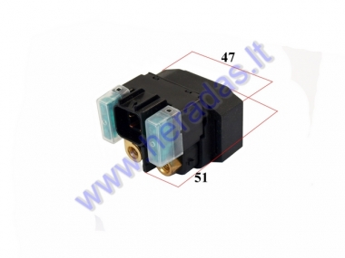 VOLTAGE REGULATOR 4 PIN FOR starter 12V for motocycle Suzuki, 30A