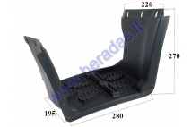 FOOTREST FOR ATV RIGHT SIDE YETI