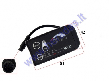 Display for ELECTRIC FOLDING TRICYCLE Scooter 36V for model DL3