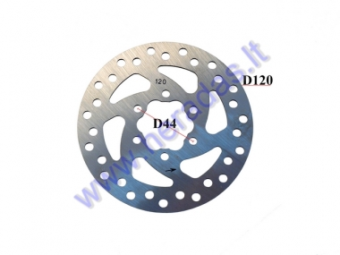 Brake disk for electric kick scooter D120mm fits to model ELESMART E3