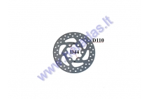 BRAKE DISK FOR ELECTRIC KICK SCOOTER D110mm fits model ELESMART E3