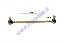 Steering tie rod for ATV quad bike L320
