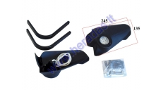 MOTORCYCLE HANDGUARDS with LED lights
