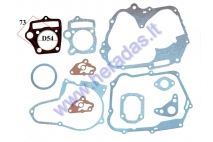 ENGINE GASKET SET FOR ATV QUAD BIKE 125cc horizontal engine with starter