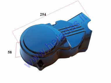LEFT SIDE ENGINE COVER FOR MOTORCYCLE 110-125cc analogue CBF33019