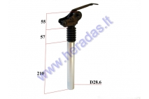 SEATPOST FOR BICYCLE D28.6