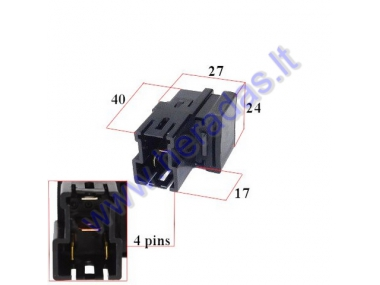 RELAY for KTM 61111057000 CM1A-R-12V-H80