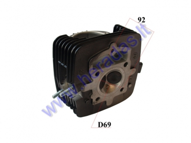 Cylinder head for motorcycle 150-230 cc air-cooled