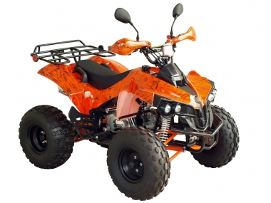 QUAD BIKE 125cc WARRIOR SUPER EDITION (PLEASE CONTACT FOR THE SENDING TERMS AND PRICE: PARDUOTUVE@HERADAS.LT)
