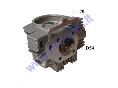 Cylinder head for motorcycle 125cc