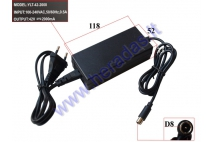 36V LITHIUM-ION BATTERY CHARGER. SUITABLE FOR ELECTRIC SKATEBOARD, ELECTRIC BICYCLE, ELECTRIC WHEELCHAIR TRAILER 36VBATTERY CHARGING (42V -2A)