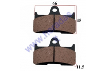 BRAKE PADS FOR ATV QUAD BIKE Yamaha, CF MOTO, Goes NHC