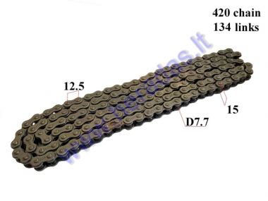 CHAIN FOR 250CC ATV QUAD BIKE ROOLER7.7 L134 420 TYPE