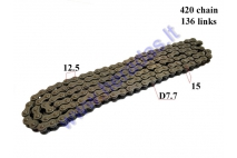CHAIN FOR 110cc ATV QUAD BIKE 420 L136