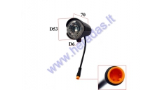 Front light for ELECTRIC TRIKE SCOOTER, MOBILITY SCOOTER  DL3 LIGHT