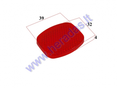 REFLECTOR FOR ELECTRIC TRIKE SCOOTER, MOBILITY SCOOTER  DL3 LIGHT