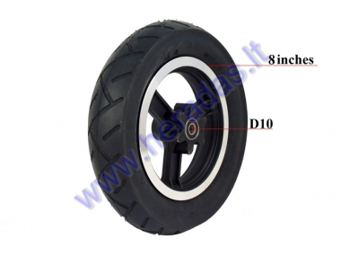 Front wheel for ELECTRIC TRIKE SCOOTER, MOBILITY SCOOTER 36V 300W DL3 LIGHT
