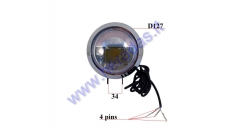 HEADLIGHTS FOR ELECTRIC SCOOTER, MOTOCYCLE 12V FITS TO CITYCOCO ES8008