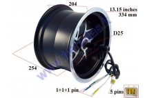 ELECTRIC MOTOR SCOOTER ELECTRIC MOTOR WHEEL 60V 3,95 KWAT for CITYCOCO  ES8008