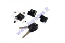KEY SWITCH FOR ELECTRIC MOTOR SCOOTER CITYCOCO ES8004