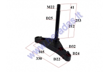 FRONT FORK BRACE CLAMP (LOWER) with snand FOR ELECTRIC MOTOR SCOOTER CITYCOCO Citycoco ES8004,ES8008