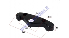 Plastic cover for FRONT FORK BRACE CLAMP (LOWER) FOR ELECTRIC MOTOR SCOOTER CITYCOCO ES8004,ES8008