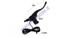 RIGHT SIDE BRAKE LEVER WITH MASTER CYLINDER FOR ELECTRIC MOTOR SCOOTER FOR CITYCOCO ES8008