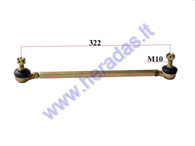 Steering tie rod for ATV quad bike L322