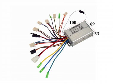 Controler for electric bike 36V 350W lingying 15a
