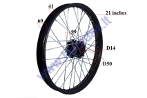 FRONT RIM FOR MOTOCYCLE 21 INCHES