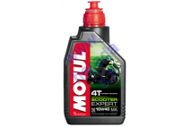 MOTOR OIL FOR 4-STROKE MOTORCYCLE ENGINES MOTUL SCOOTER EXPERT 10w40 4T 1l