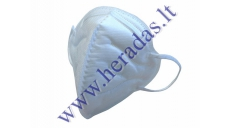 RESPIRATOR, PROTECTIVE MASK WITHOUT VALVE KN95 (FFP2)
