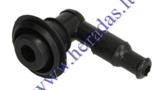 SPARK PLUG CAP (BENT/BEND) 80 degree with gasket Honda,SYm,Kymco and other