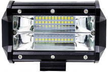ADDITIONAL Dipped LED LAMP 72W CREE 12V IP67 12-24V 13.50cm low beam lamp (FLOOD)