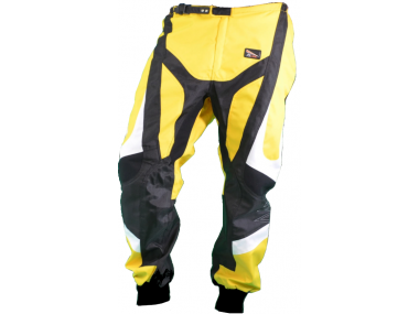 Pants for motocyclist