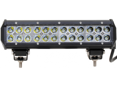 ADDITIONAL LOW AND HIGH BEAM 72W LED BAR Current: 9V-60V 30,4 cm IP67