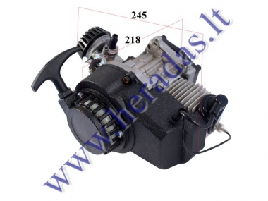 2-stroke motorcycle engine 50cc