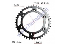 REAR SPROCKET 42 teeth  KTM 550, 520 chain
