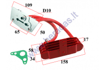 MOTOCYCLE, QUAD BIKE OIL COOLER GY6