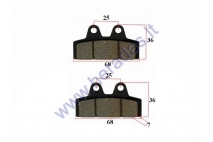 Electric motor scooter brake pads for CITYCOCO