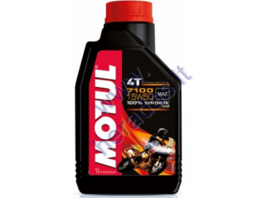 MOTOR OIL FOR 4-STROKE QUAD BIKE ENGINES MOTUL 7100 15W50 1l