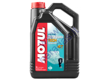 OIL MOTUL OUTBOARD TECH 4T 10W-40 5l