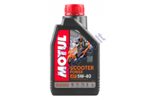 MOTOR OIL FOR 4-STROKE ENGINES MOTUL SCOOTER POWER 5W40 4T 1L